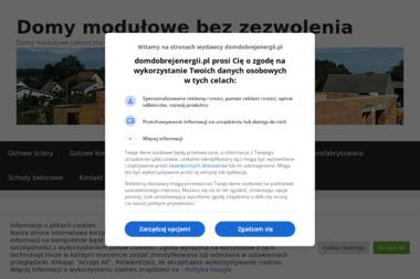 Dom Dobrej Energii - Domy modułowe Dołuje