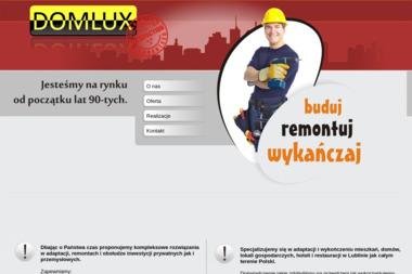 Domlux s.c. - Remonty biur Świdnik