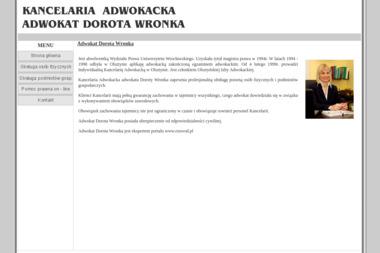 KANCELARIA ADWOKACKA adwokat Dorota Wronka - Adwokat Karnista Olsztyn