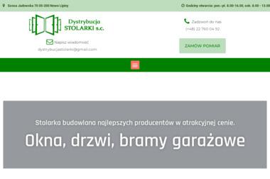 Dystrybucja Stolarki s. c. - Okna drewniane Wołomin