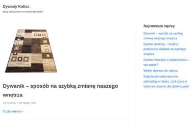"""""""Klaudia"""" Dywany - Wykładziny Kalisz"""