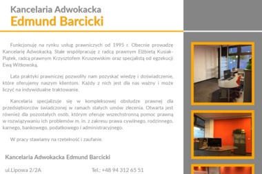 Kancelaria Adwokacka Edmund Barcicki - Adwokat Białogard