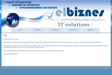 ELBIZNES - Strony Internetowe Elbląg