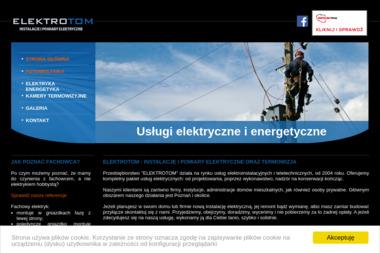 ELEKTROTOM - Instalatorstwo energetyczne Poznań