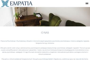 EMPATIA - pracownia psychoterapii i psychoedukacji - Leczenie Odwykowe Konin