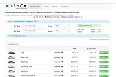 EnterCar - Wynajem Samochodów Chechło Drugie