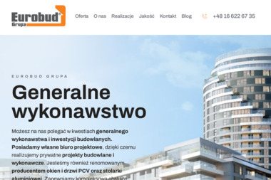 Eurobud Grupa Sp. z o.o. - Okna aluminiowe Roźwienica