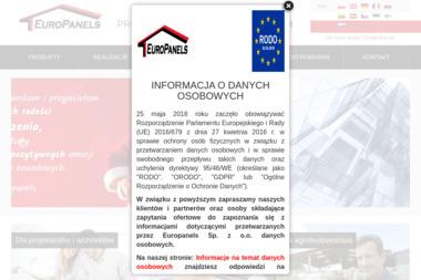 EuroPanels Sp. z o.o. - Płyta Warstwowa Włocławek