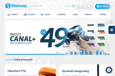 Fiberway - Internet Niepołomice