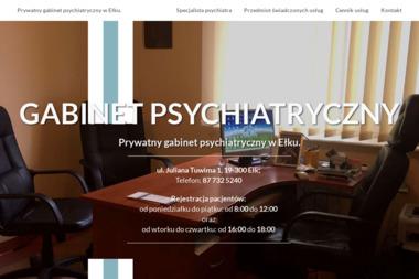 Prywatny Gabinet Psychiatryczny - Psycholog Ełk