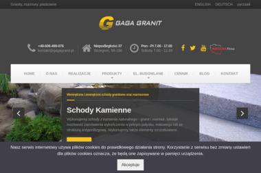 GAGA GRANIT - Parapety Kamienne Strzegom