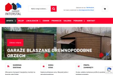 Garaże Interstal - Garaże blaszane Szczyrzyc