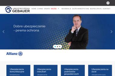Multiagencja Ubezpieczeniowa Henryk Gebauer - Ubezpieczalnia AC Tarnów Opolski