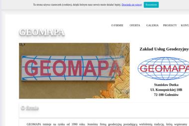 GEOMAPA - Zakład Usług Geodezyjnych - Usługi Geodezyjne Goleniów