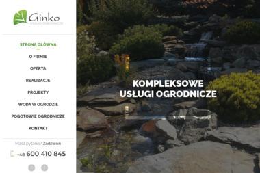 ZPUH Ginko - Aranżacje Ogrodów Pleszew