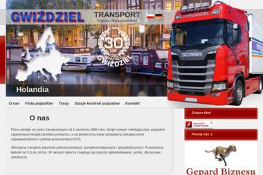 Transport Krajowy i Międzynarodowy Gwiździel - Transport międzynarodowy Chojnice