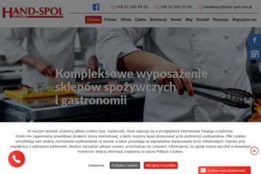 """""""HAND-SPOL"""" HoReCa. - Ekspresy do Kawy Bydgoszcz"""