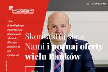 Hossa Kredyty - Restrukturyzacja Kredytu Wałbrzych