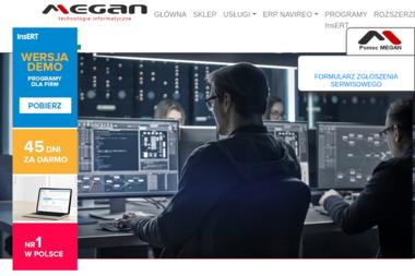 MEGAN Technologie Informatyczne - Obsługa Informatyczna Firm Mińsk Mazowiecki