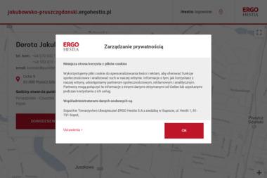 Dorota Jakubowska Ergo Hestia - Ubezpieczenie firmy Pruszcz Gdański