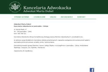 Kancelaria Adwokacka Adwokat Marta Dubel - Adwokat Jastrzębie-Zdrój