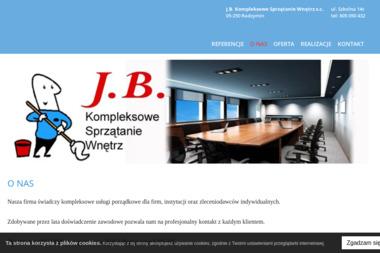 J.B. Kompleksowe Sprzątanie Wnętrz s.c. - Sprzątanie Radzymin