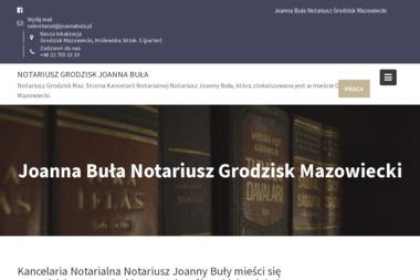 Kancelaria Notarialna - Notariusz Joanna Buła - Pomoc Prawna Grodzisk Mazowiecki