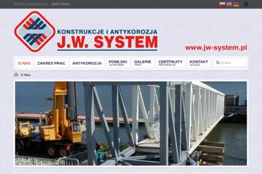 J.W. SYSTEM Konstrukcje i Antykorozja - Piaskowanie Metali Szczecin