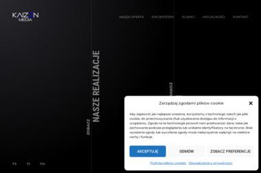 Kaizen Media - Materiały reklamowe  Kraków