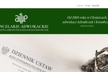 Kancelarie Adwokackie Katarzyna Adriańczyk & Malgorzata Konończuk - Adwokat Chojnice