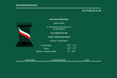 Kancelaria Notarialna  Agata Serafin - Notariusz Gliwice