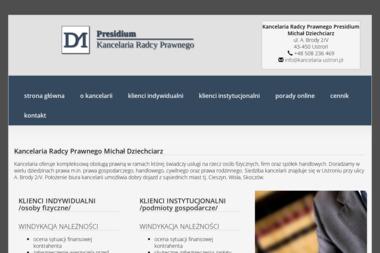 Kancelaria Radcy Prawnego Presidium Michał Dziechciarz - Obsługa prawna firm Ustroń