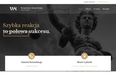 Wojciech Suszyński Adwokat - Windykacja Lębork