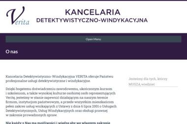 """Kancelaria Detektywistyczno-Windykacyjna """"VERITA"""" - Usługi Detektywistyczne Kwidzyn"""