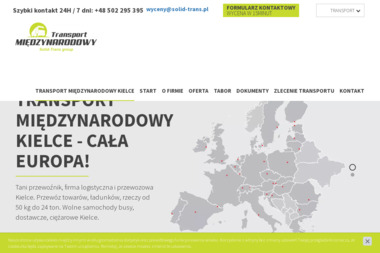Solid-Trans Group - Spedycja Międzynarodowa Kielce