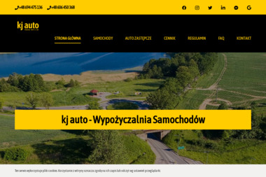 KJ Auto - Wypożyczalnia Samochodów - Wynajem Samochodów Kętrzyn