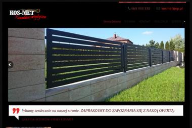 KOSMET OGRODZENIA - Ogrodzenia kute Sokołów Małopolski