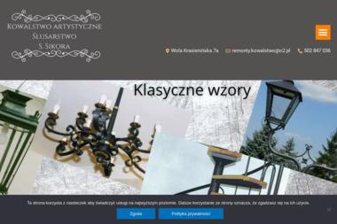Kowalstwo Artystyczne Stanisław Sikora - Obróbka metali Wola Krasienińska