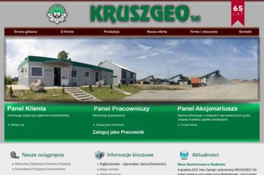 KRUSZGEO - Geolog Rzeszów