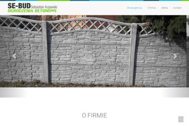 PPHU Se-Bud - Sprzedaż Ogrodzeń Betonowych Gniezno