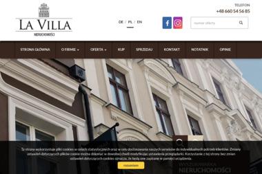 La Villa - Nieruchomości - Wynajem nieruchomości Leszno