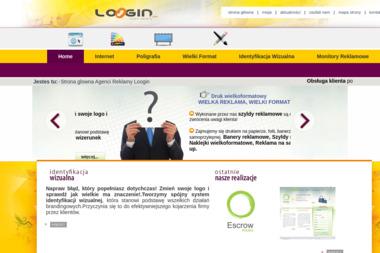 LOGIN - studio reklamy - Identyfikacja wizualna Katowice