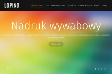 Drukarnia Loping - Nadruki Wywab i Brokat Gliwice