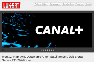 F.H.U. LUKSAT - Naprawa Telewizorów Wieliczka