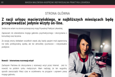 Magda Malewska-Kasprzak Indywidualna Praktyka Lekarska - Psycholog Śrem
