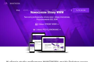Mantikora - Agencja interaktywna Kościan