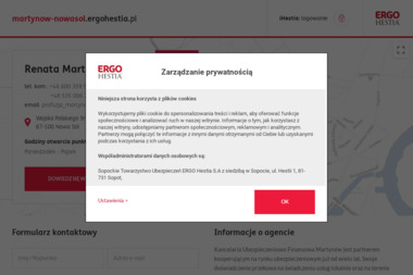 Agencja Ubezpieczeń ERGO Hestia Renata Martynów - Ubezpieczenia na życie Nowa Sól