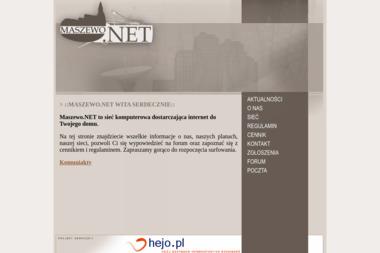 Maszewo.NET - Internet Maszewo