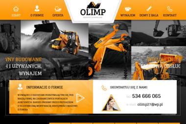 OLIMP Maszyny Budowlane - Sprzedaż Ładowarek Gniezno