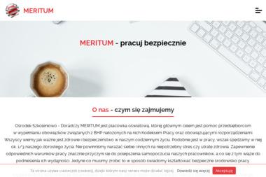 OŚRODEK SZKOLENIOWO-DORADCZY MERITIUM - Firma Szkoleniowa Skierniewice